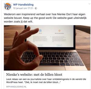 Bloggen zorgt voor klantenbinding
